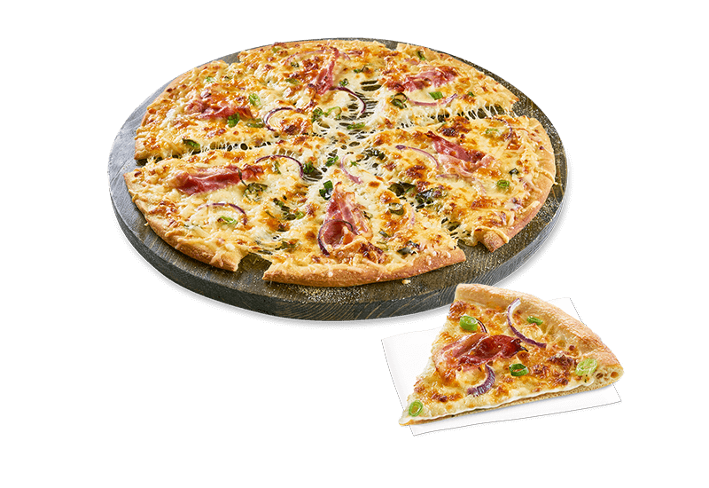 Pizza Triple Cheese & Bacon